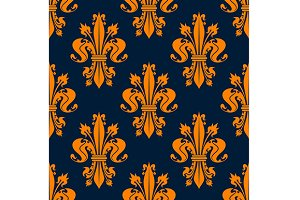Victorian royal floral pattern