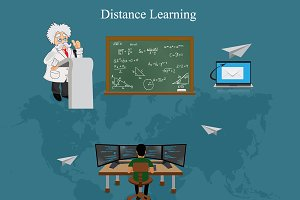 online education, distance learning