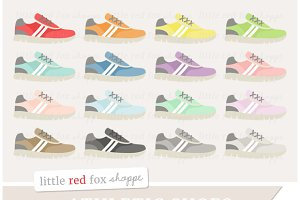 Athletic Shoe Clipart