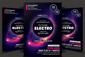 Electro Music Flyer