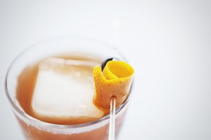 Old Fashioned in a Glass