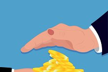 coins, hands, money, investment