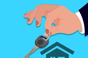 hands, key, house, investment