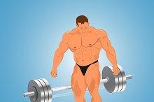 bodybuilding, weights, barbell