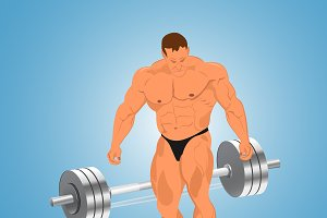 bodybuilding, weights, barbell