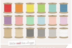 Thread Spool Clipart