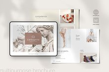 CARTAGENA - Canva & Indd Brochure by  in Templates