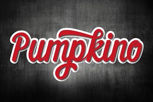 Pumpkino Font