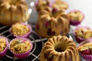 handmade sweet dessert muffin cake