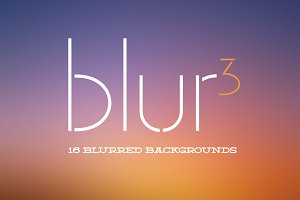 Blur3: 16 Blurred Backgrounds