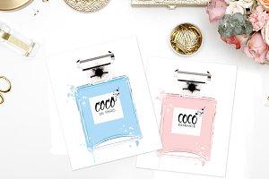 Fashion perfume bottles