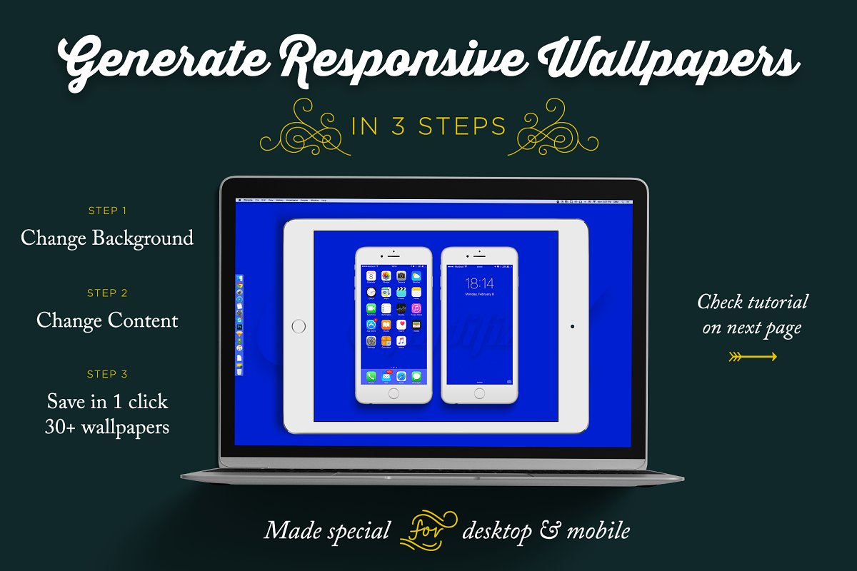 Wallpaper Generator In 1 Click