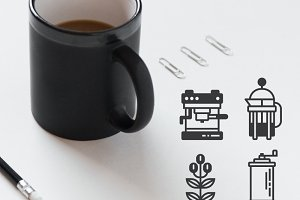 18 Coffee Icons