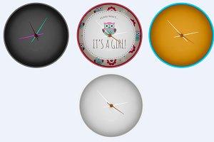 Clock Mock-up