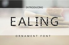 Ealing by  in Fonts