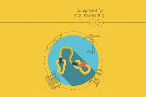 Mountaineering equipment. Quickdraw
