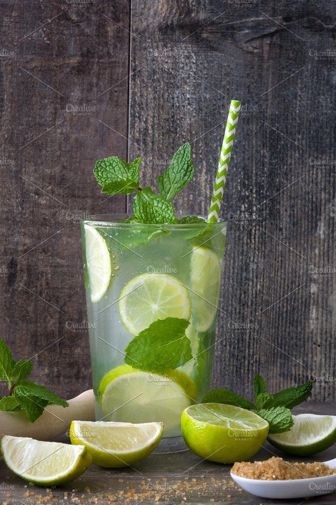 Summer drink. Fresh mojito - Food & Drink