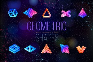Geometric shapes of triangles