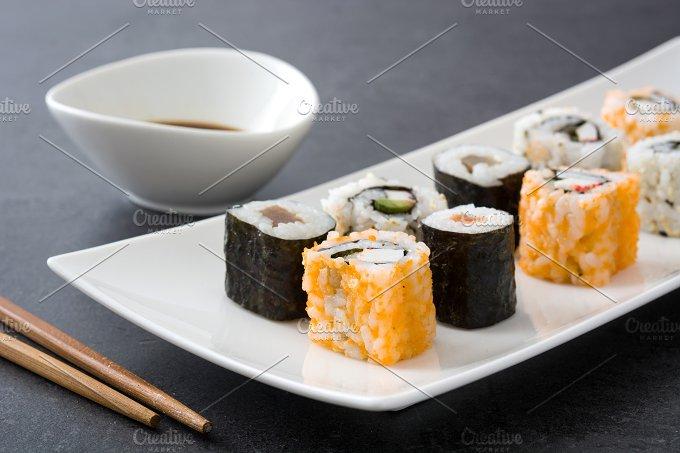 Japanese food. Sushi - Food & Drink