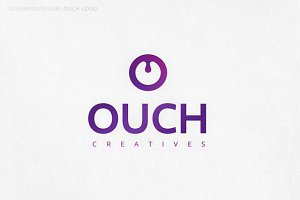 Ouch Letter O Logo