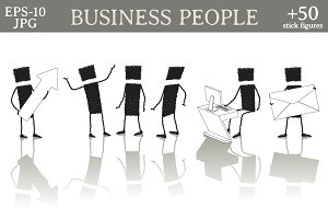 Set: Business people
