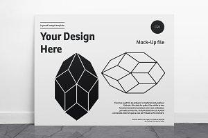 Poster Mockup - Landscape - 01