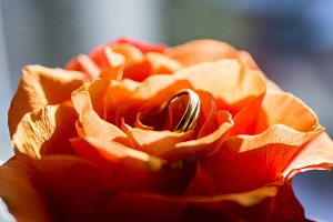 Ring on Flower