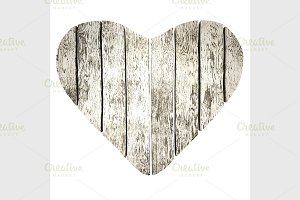 Heart of planks