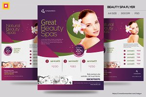 Beauty Spa Promotion Flyer V3