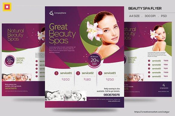 Beauty Spa Promotion Flyer V3