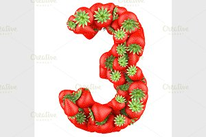 Number of Strawberry