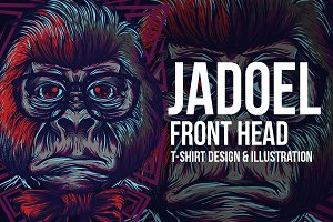 Jadoel Front Head Illustration