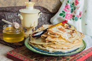Russian pancake festival.