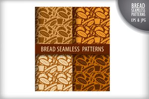 Bread Seamless Patterns