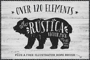 Rustica Vector Pack Vol. 1