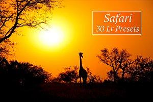 30 Safari Lr Presets