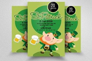 St Patricks Flyer Template