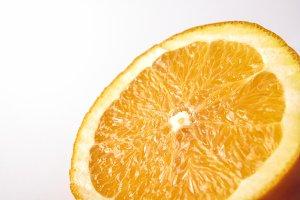 Section of orange