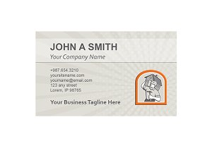 Business Card Template Carpenter Bui