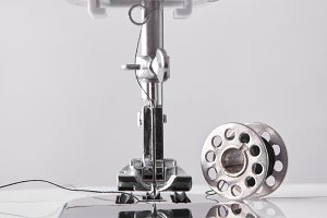 Front detail sewing machine