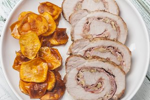 pork tenderloin stuffed