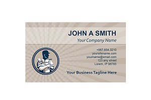 Business card template carpenter pai business card templates business card template carpenter pai business card templates creative market accmission Gallery