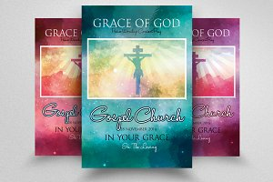 Jesus Church Flyer Template