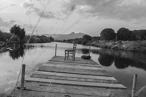 B/W Mystic Lake
