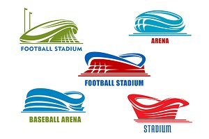 Sport arenas and stadiums