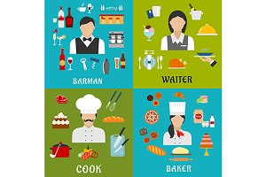 Cooking and service professions