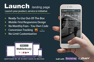 Launch - Landing Page