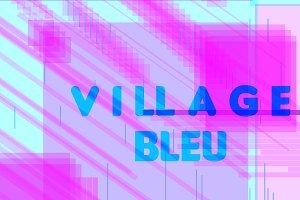 The blue Village