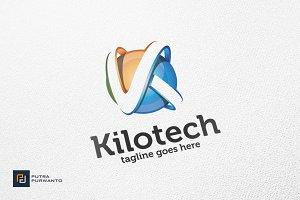 Kilotech / Letter K - Logo Template