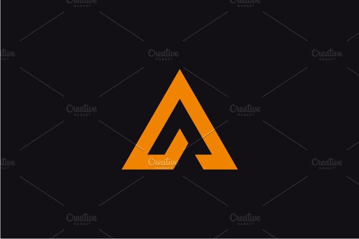 Alpha Letter A Logo Logo Templates Creative Market